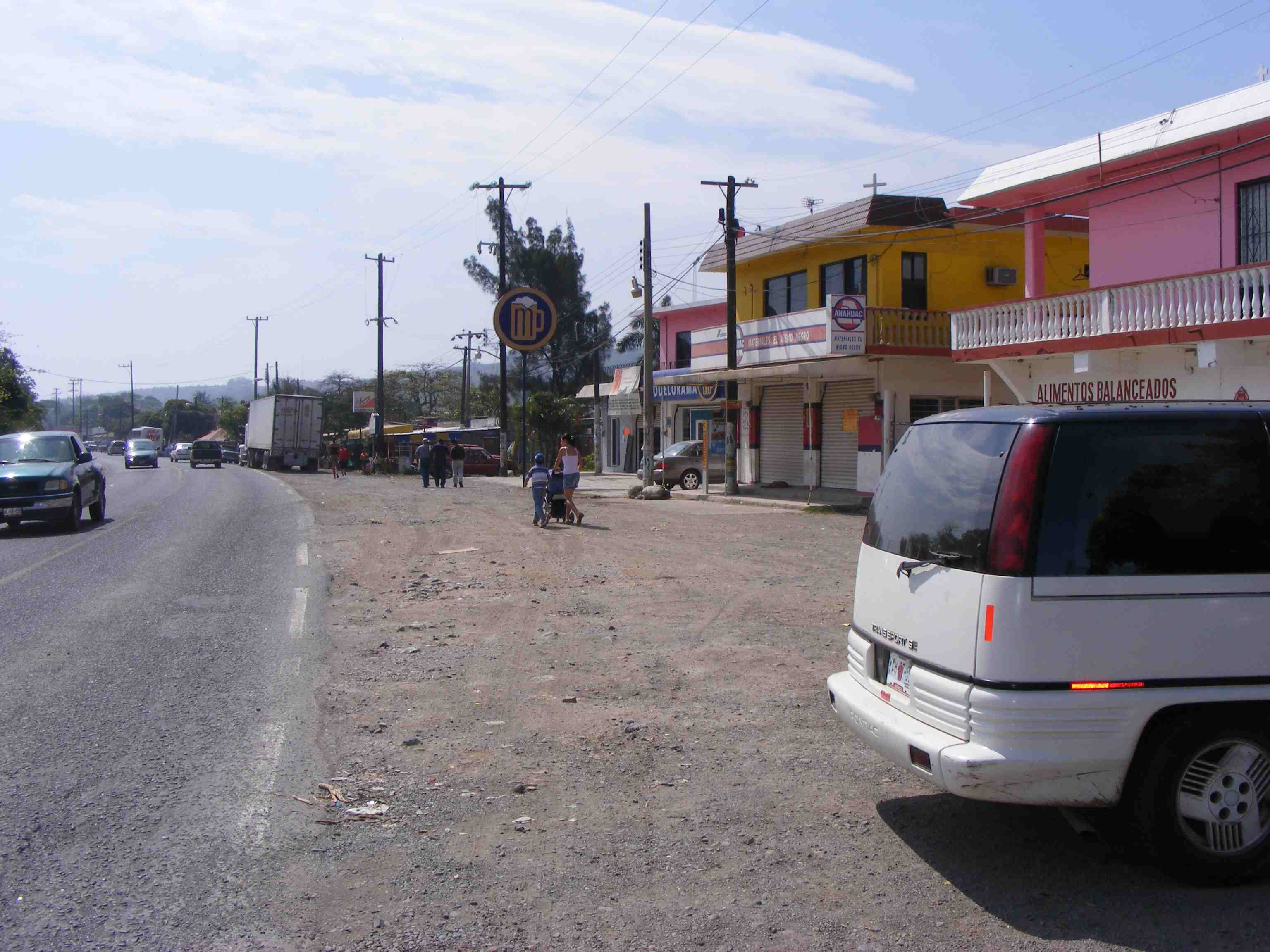 Typical little town of Costa Esmeralda