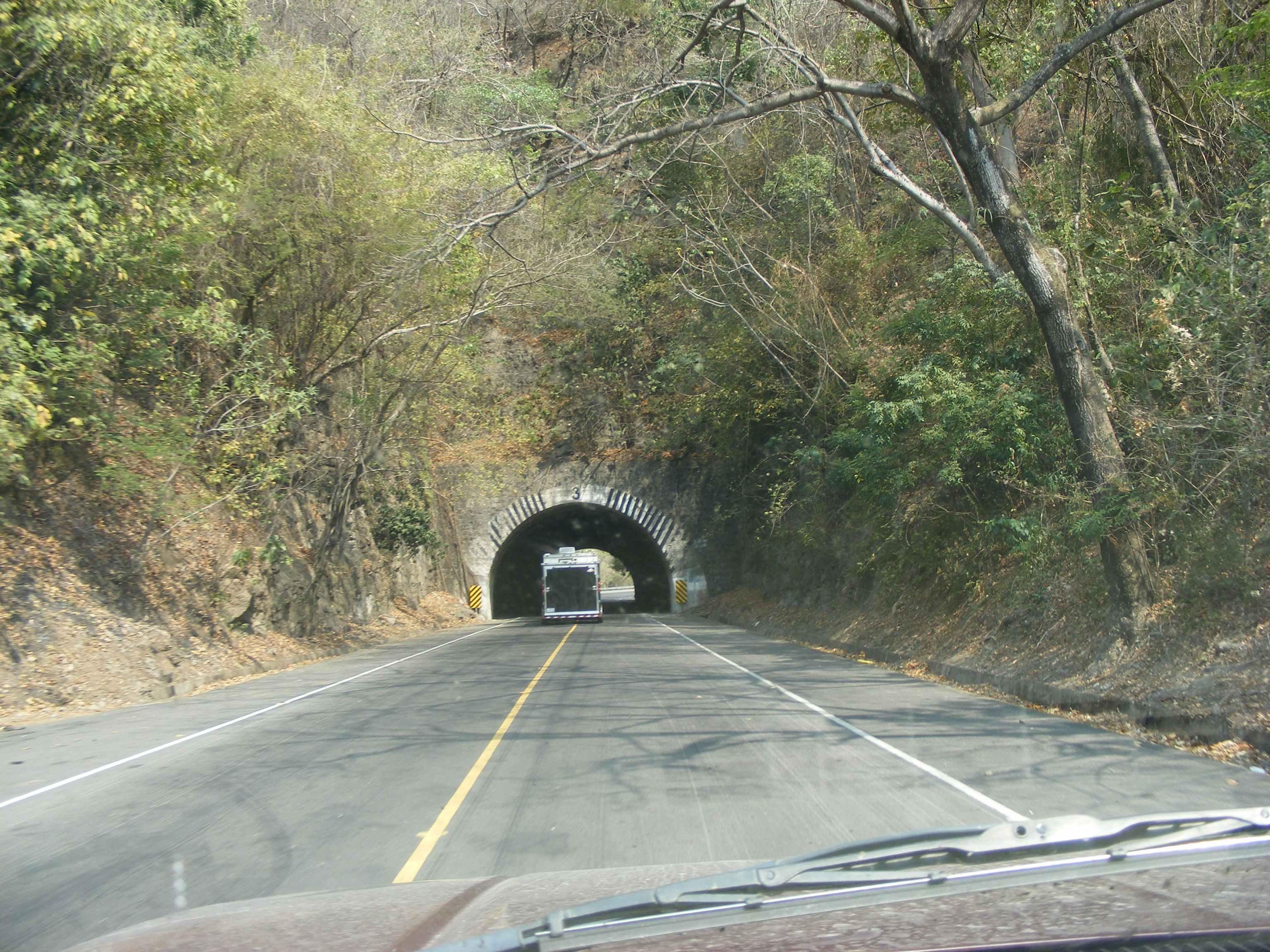 Tunnels on Coastal Highway