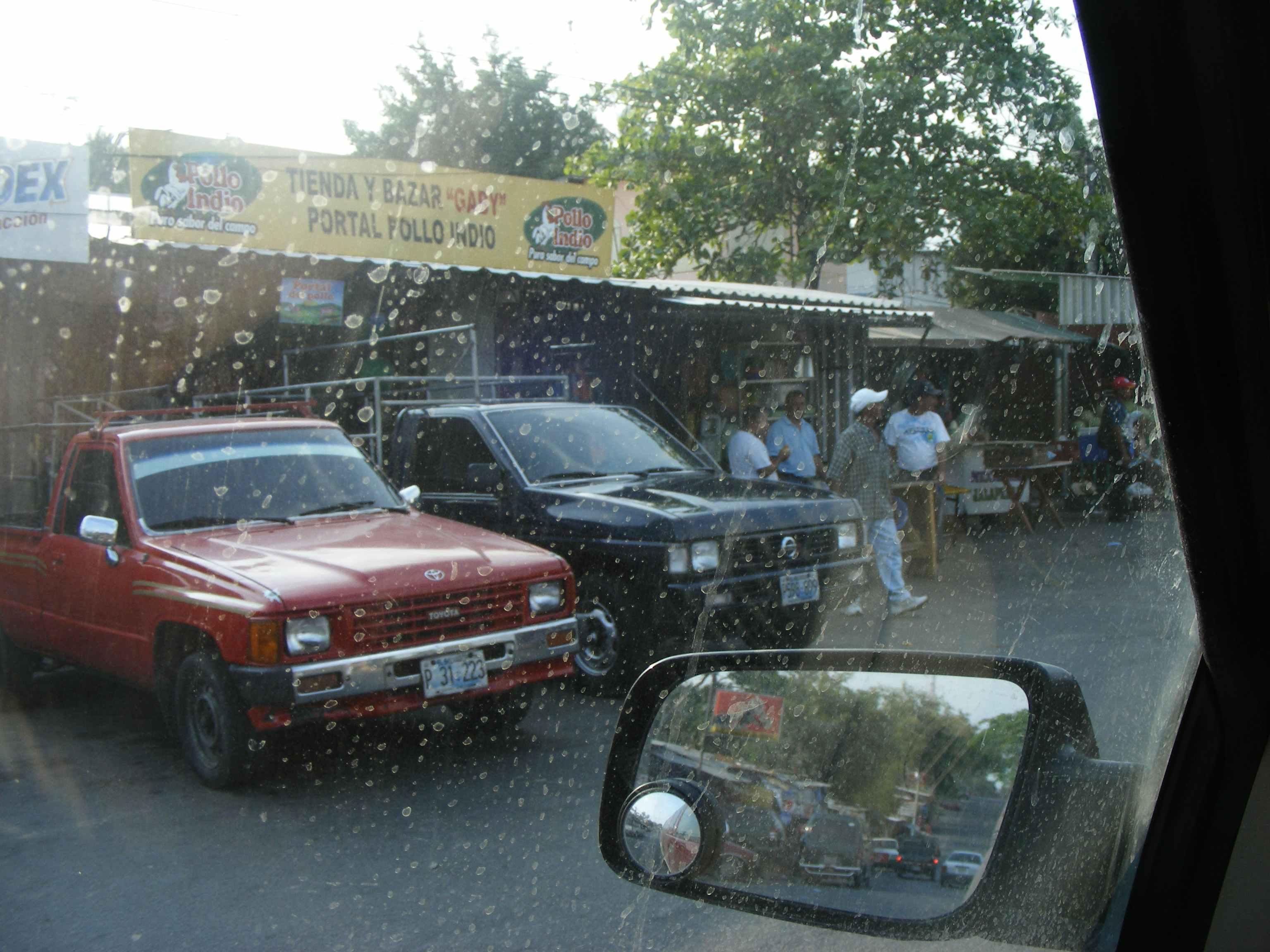 Crossing a Village in El Salvador