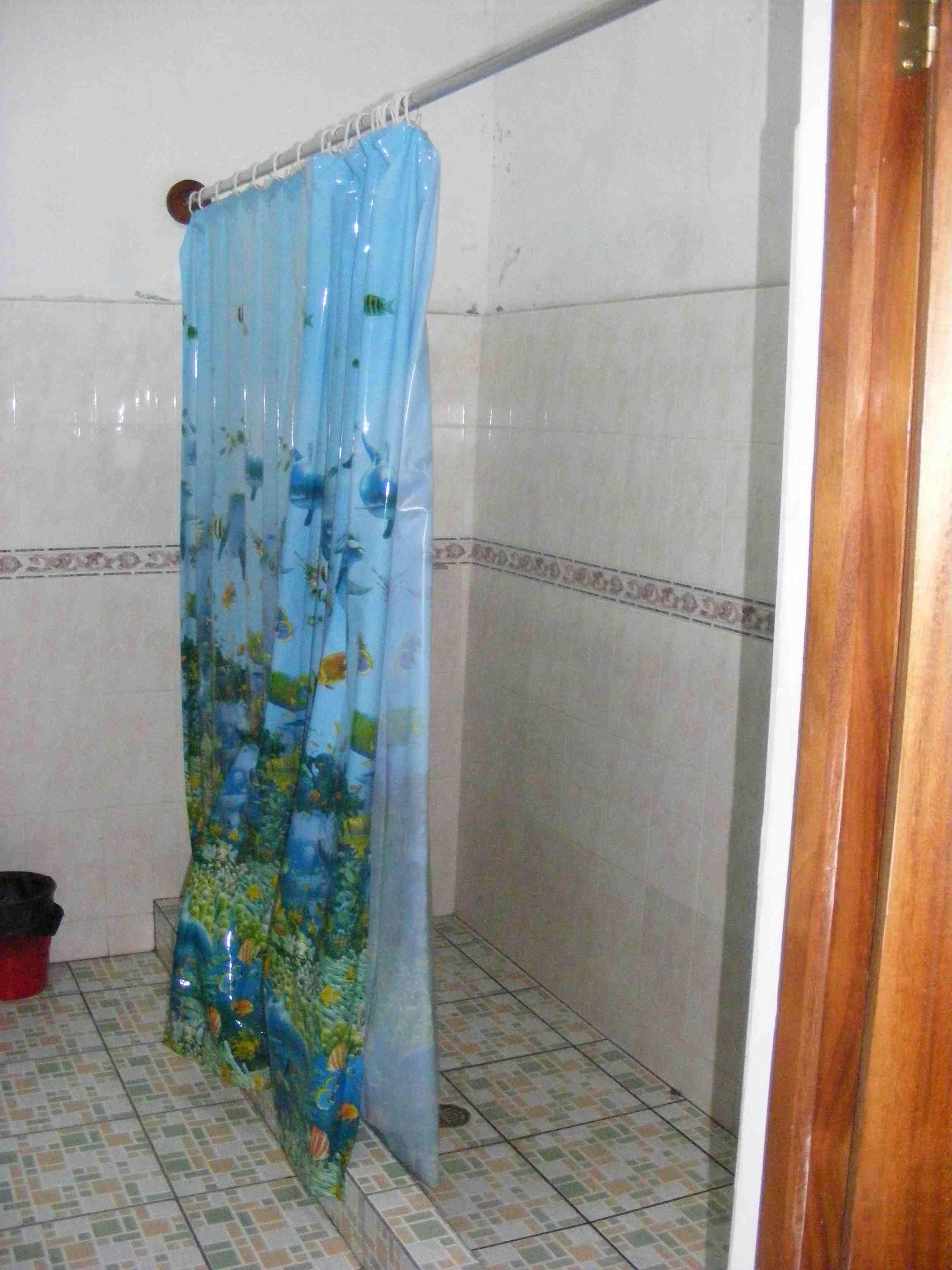 Oversized bathroom