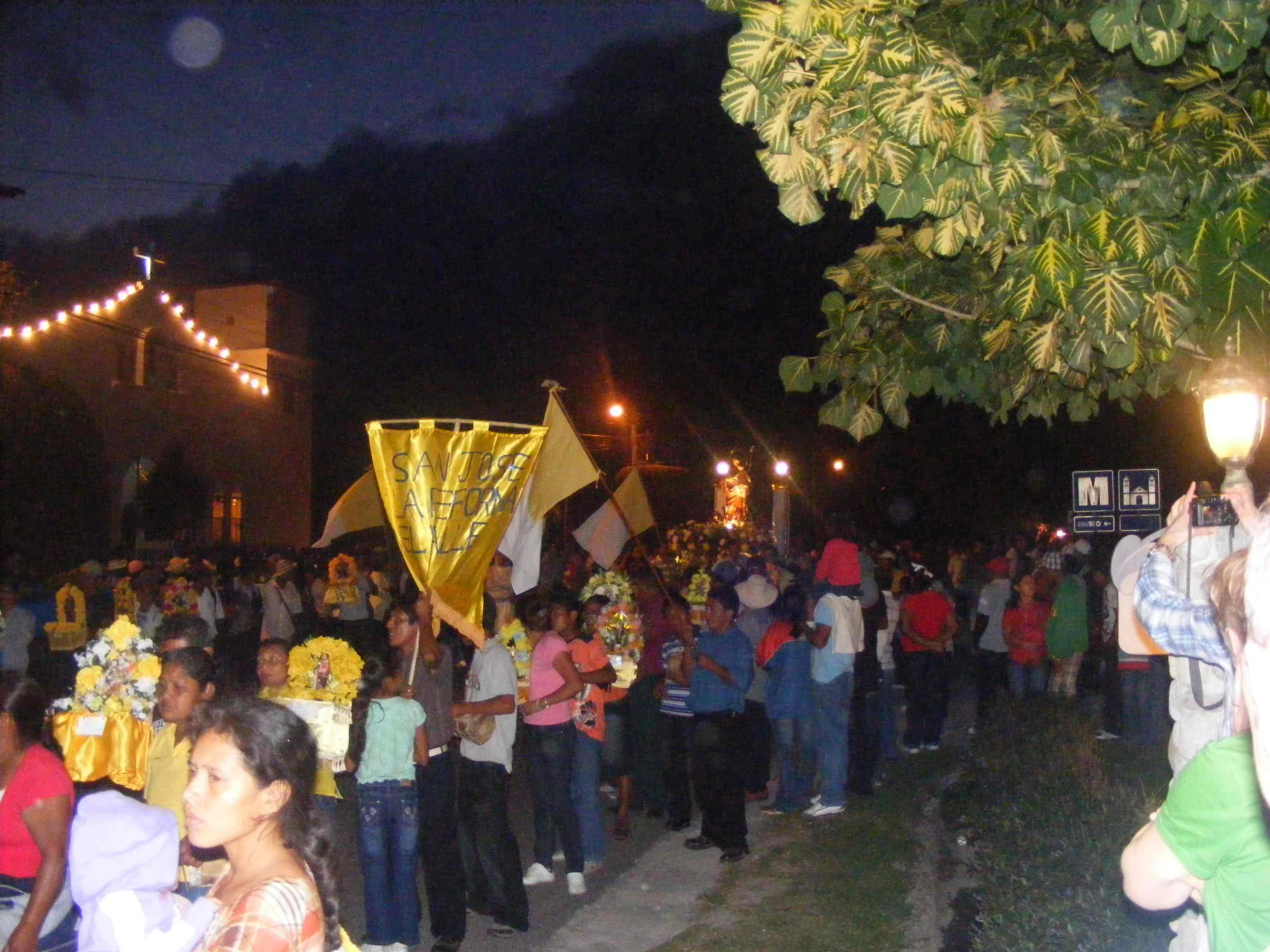 Festivities in El Valle