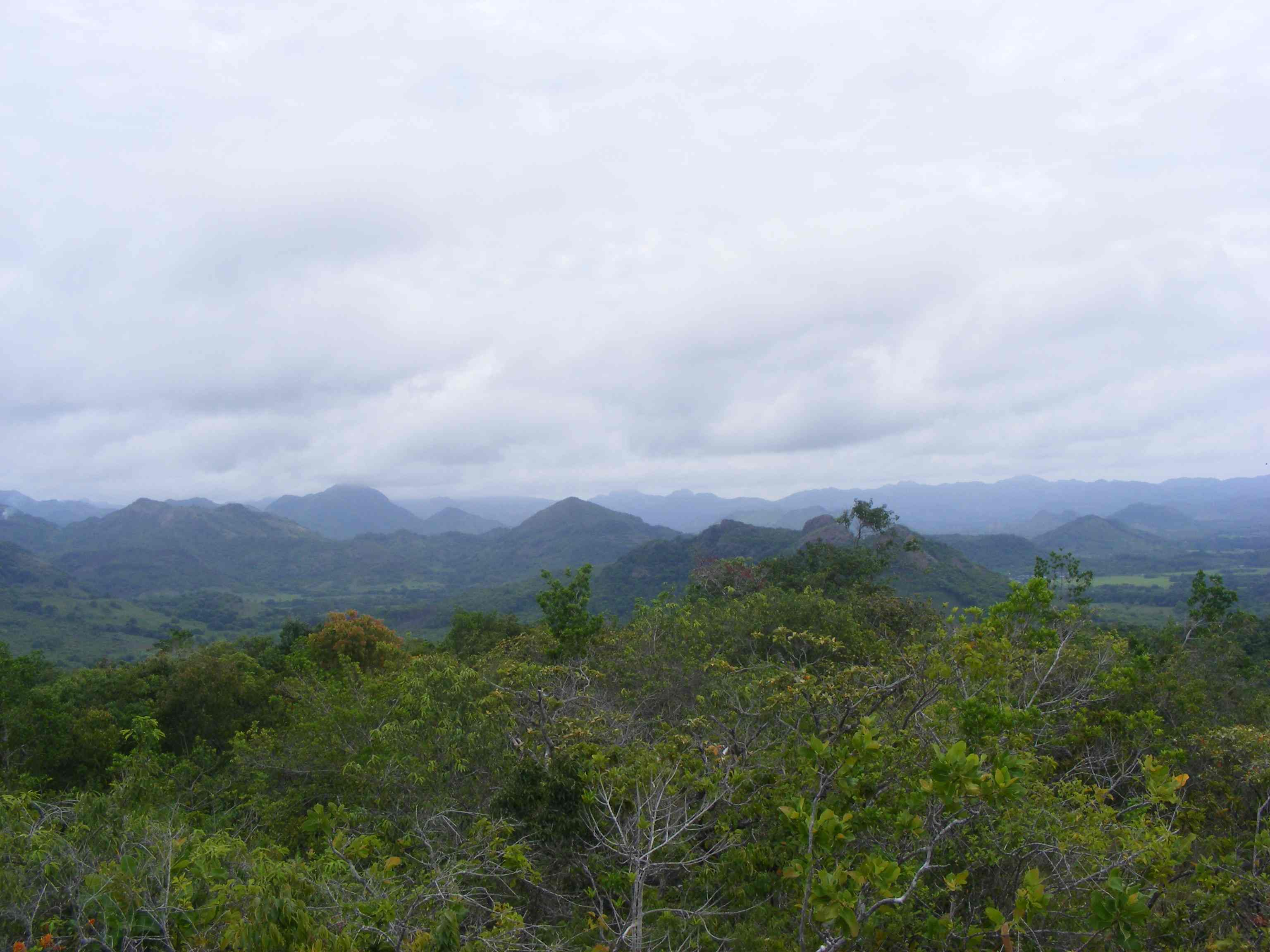 Cocle mountains