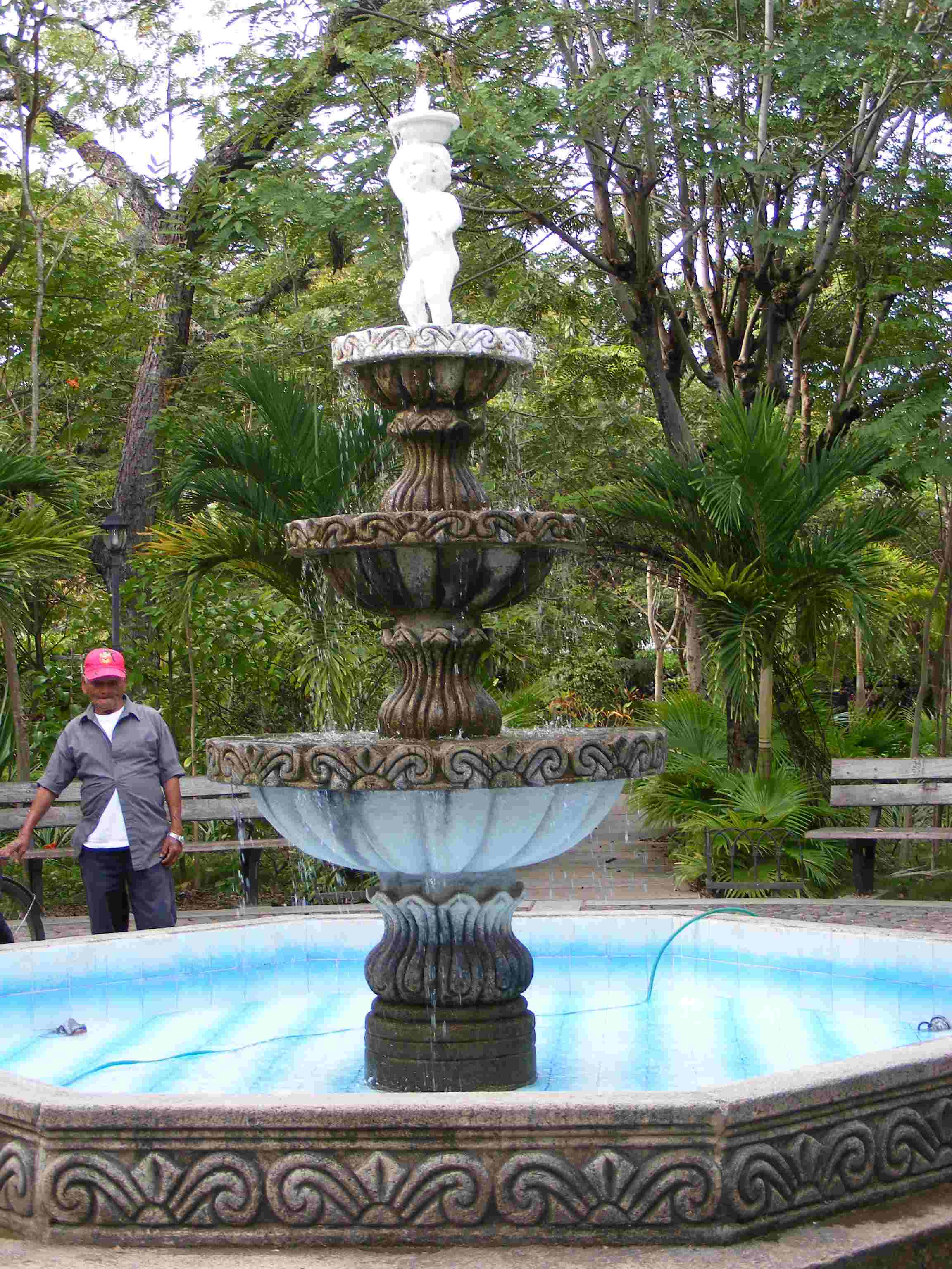 Fountain in Somoto
