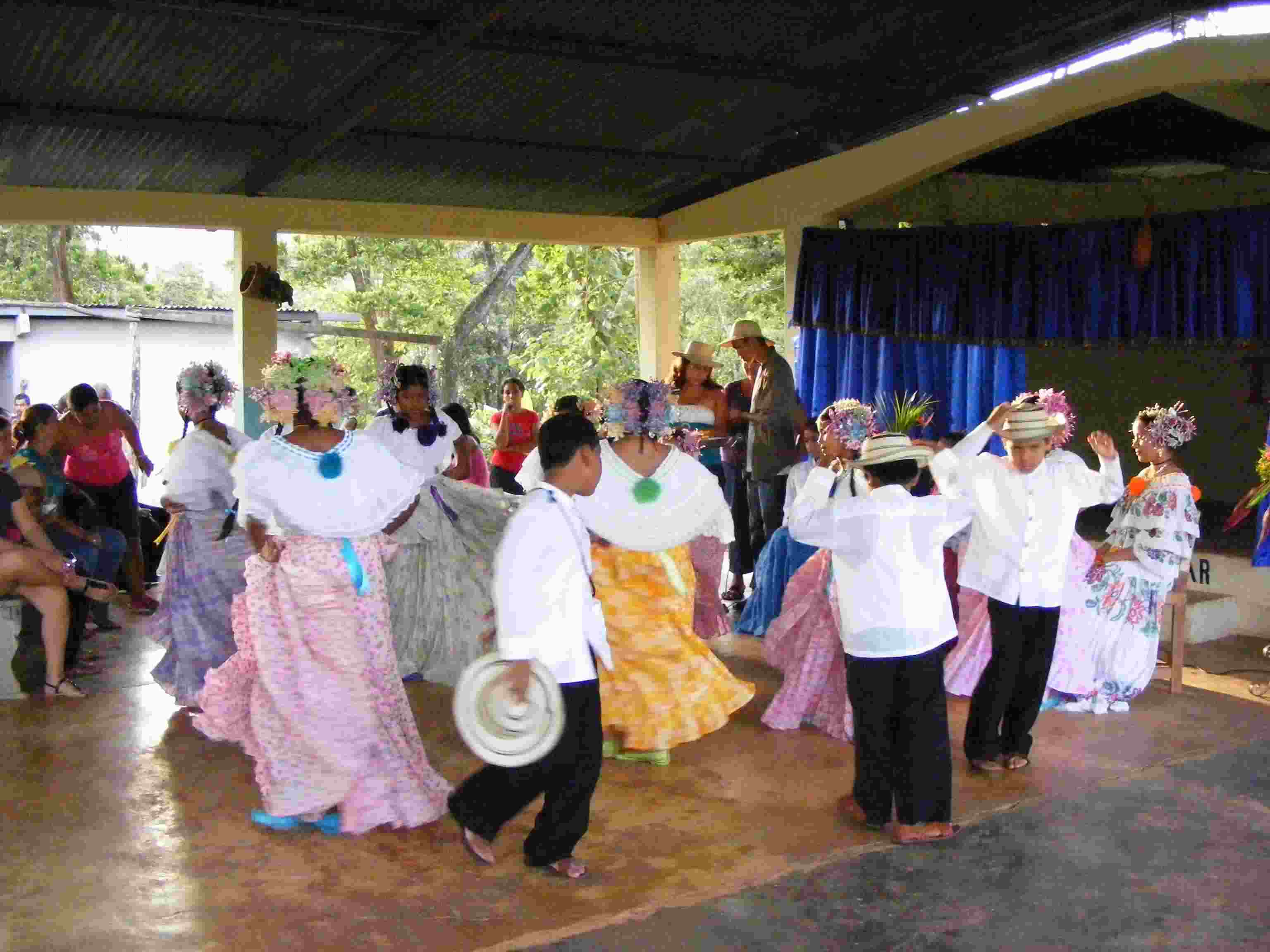 Elaborate folk dance